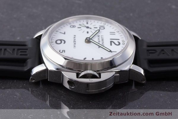 Used luxury watch Panerai Luminor Marina steel manual winding Kal. ETA B99501 Ref. PAM00113 / OP6567  | 161942 05