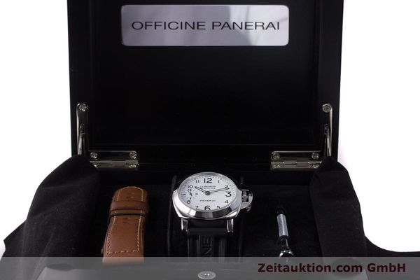 Used luxury watch Panerai Luminor Marina steel manual winding Kal. ETA B99501 Ref. PAM00113 / OP6567  | 161942 07