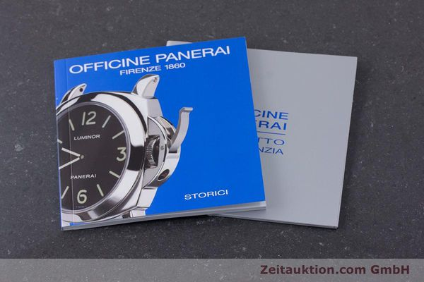 Used luxury watch Panerai Luminor Marina steel manual winding Kal. ETA B99501 Ref. PAM00113 / OP6567  | 161942 14