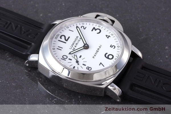 Used luxury watch Panerai Luminor Marina steel manual winding Kal. ETA B99501 Ref. PAM00113 / OP6567  | 161942 17