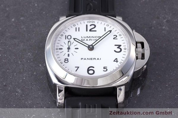 Used luxury watch Panerai Luminor Marina steel manual winding Kal. ETA B99501 Ref. PAM00113 / OP6567  | 161942 18
