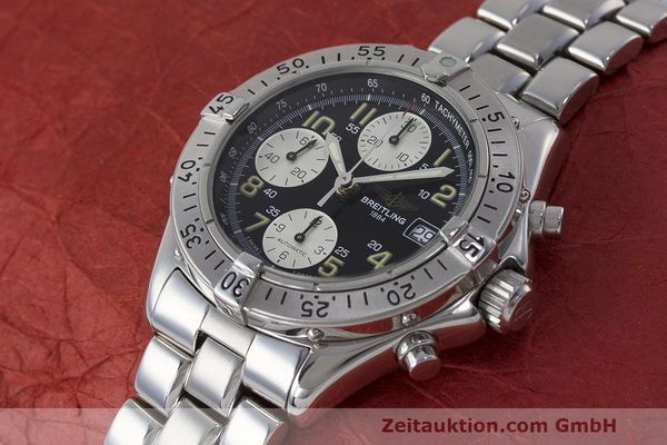 Used luxury watch Breitling Colt chronograph steel automatic Kal. B13 ETA 7750 Ref. A13035.1  | 161943 01