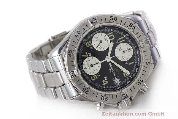Used luxury watch Breitling Colt chronograph steel automatic Kal. B13 ETA 7750 Ref. A13035.1  | 161943 03