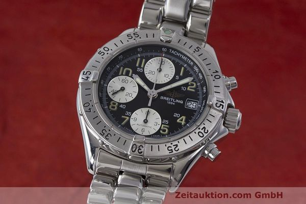 Used luxury watch Breitling Colt chronograph steel automatic Kal. B13 ETA 7750 Ref. A13035.1  | 161943 04