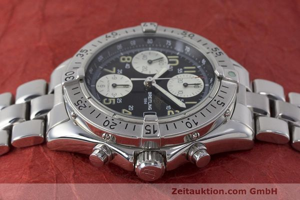 Used luxury watch Breitling Colt chronograph steel automatic Kal. B13 ETA 7750 Ref. A13035.1  | 161943 05