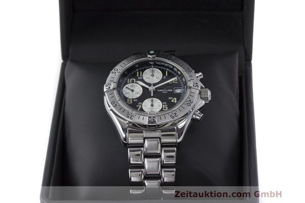 Used luxury watch Breitling Colt chronograph steel automatic Kal. B13 ETA 7750 Ref. A13035.1  | 161943 07