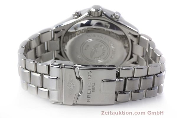 Used luxury watch Breitling Colt chronograph steel automatic Kal. B13 ETA 7750 Ref. A13035.1  | 161943 11