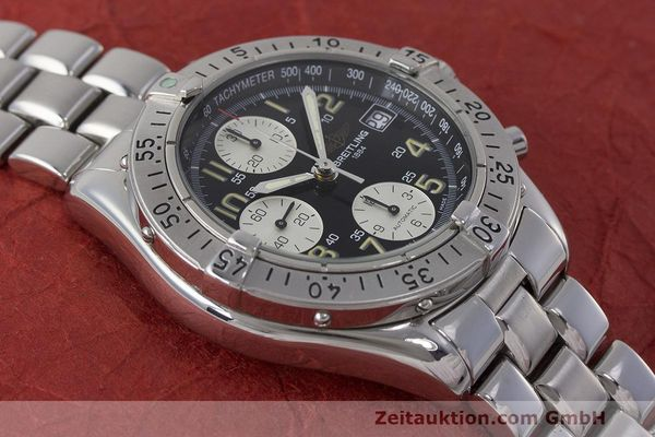Used luxury watch Breitling Colt chronograph steel automatic Kal. B13 ETA 7750 Ref. A13035.1  | 161943 14