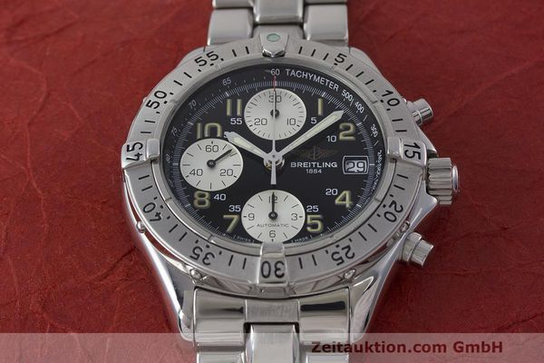 Used luxury watch Breitling Colt chronograph steel automatic Kal. B13 ETA 7750 Ref. A13035.1  | 161943 15