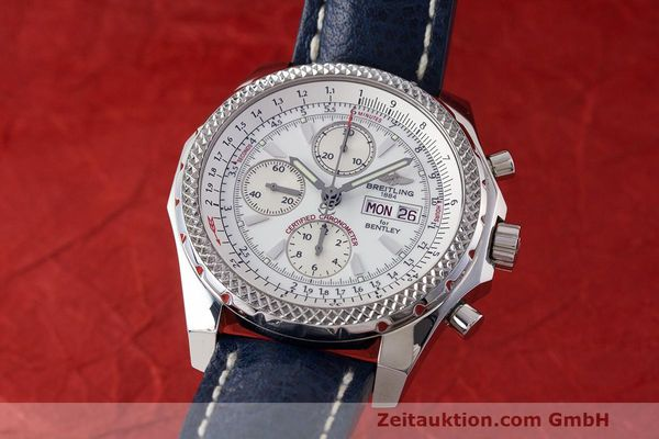 BREITLING FOR BENTLEY GT CHRONOGRAPH AUTOMATIK STAHL A13362 VP: 7760,- EURO [161945]