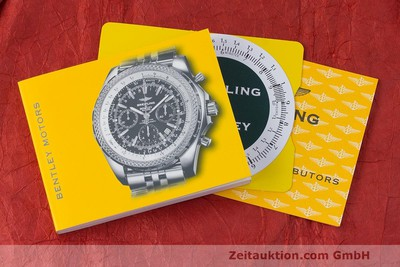 BREITLING BENTLEY CHRONOGRAPHE ACIER AUTOMATIQUE KAL. B13 ETA 7750 LP: 7760EUR [161945]