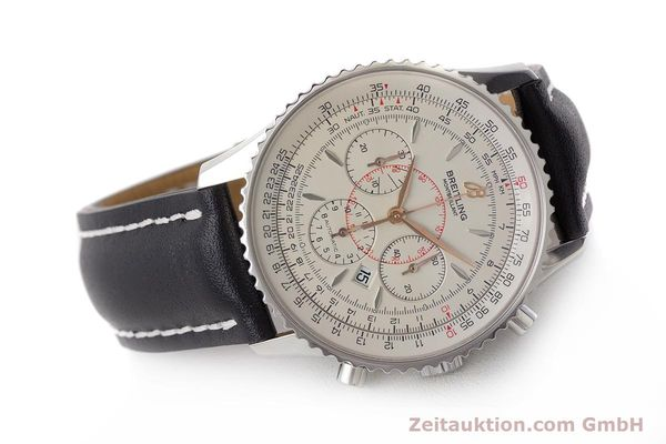 Used luxury watch Breitling Montbrillant chronograph steel automatic Kal. B41 ETA 2892A2 Ref. A41370  | 161950 03