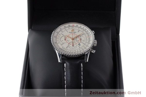 Used luxury watch Breitling Montbrillant chronograph steel automatic Kal. B41 ETA 2892A2 Ref. A41370  | 161950 07