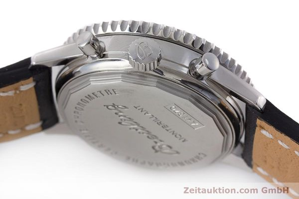 Used luxury watch Breitling Montbrillant chronograph steel automatic Kal. B41 ETA 2892A2 Ref. A41370  | 161950 08
