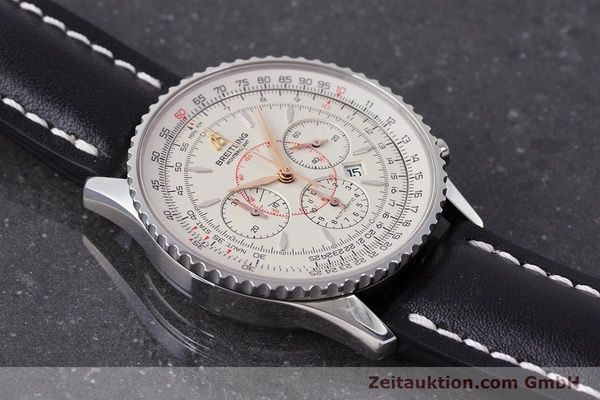 Used luxury watch Breitling Montbrillant chronograph steel automatic Kal. B41 ETA 2892A2 Ref. A41370  | 161950 13