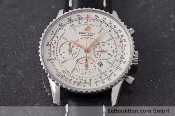 Used luxury watch Breitling Montbrillant chronograph steel automatic Kal. B41 ETA 2892A2 Ref. A41370  | 161950 14