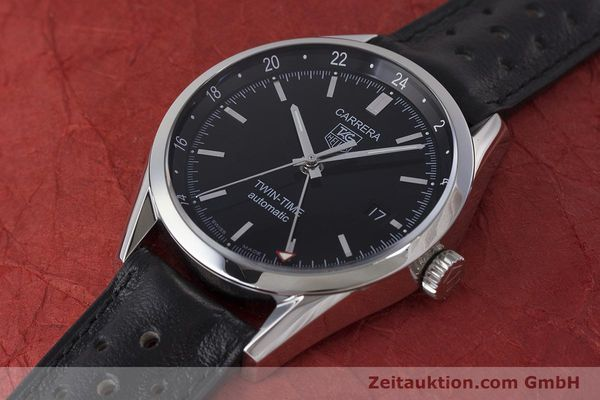 Used luxury watch Tag Heuer Carrera steel automatic Kal. 7 ETA 2893-2 Ref. WV2115  | 161951 01