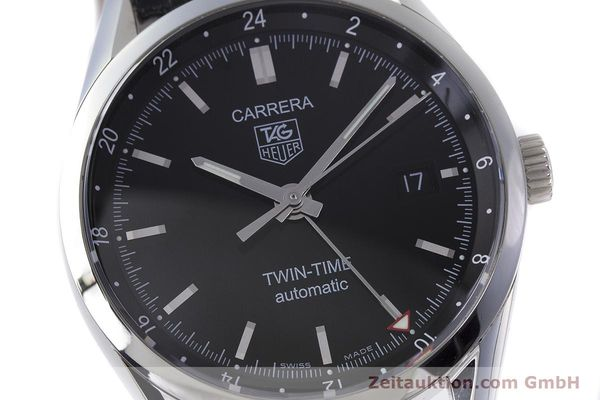 Used luxury watch Tag Heuer Carrera steel automatic Kal. 7 ETA 2893-2 Ref. WV2115  | 161951 02