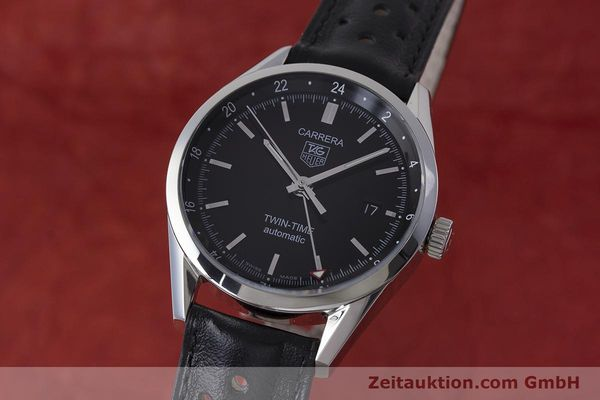 Used luxury watch Tag Heuer Carrera steel automatic Kal. 7 ETA 2893-2 Ref. WV2115  | 161951 04