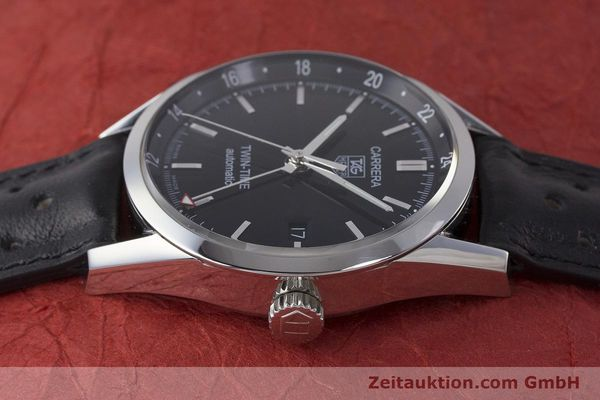 Used luxury watch Tag Heuer Carrera steel automatic Kal. 7 ETA 2893-2 Ref. WV2115  | 161951 05