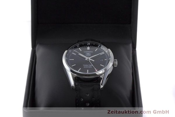 Used luxury watch Tag Heuer Carrera steel automatic Kal. 7 ETA 2893-2 Ref. WV2115  | 161951 07