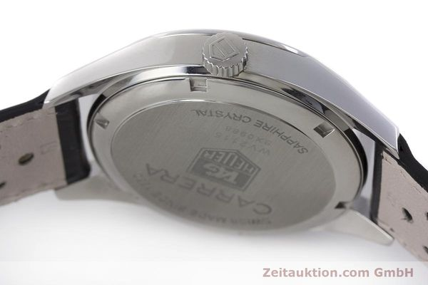 Used luxury watch Tag Heuer Carrera steel automatic Kal. 7 ETA 2893-2 Ref. WV2115  | 161951 08