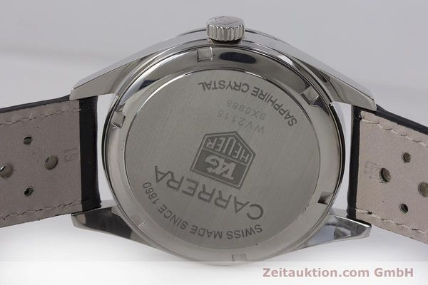 Used luxury watch Tag Heuer Carrera steel automatic Kal. 7 ETA 2893-2 Ref. WV2115  | 161951 09