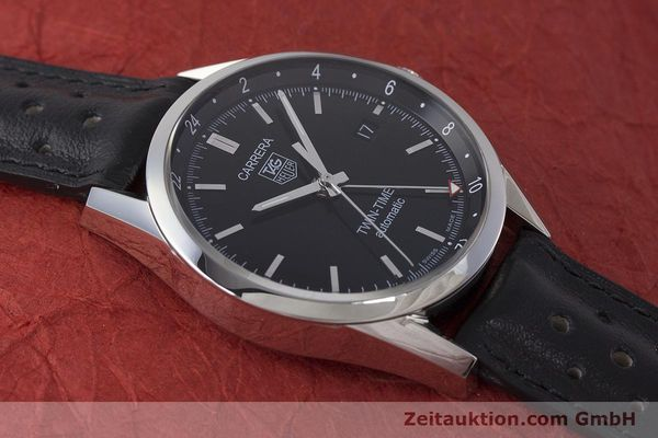 Used luxury watch Tag Heuer Carrera steel automatic Kal. 7 ETA 2893-2 Ref. WV2115  | 161951 14