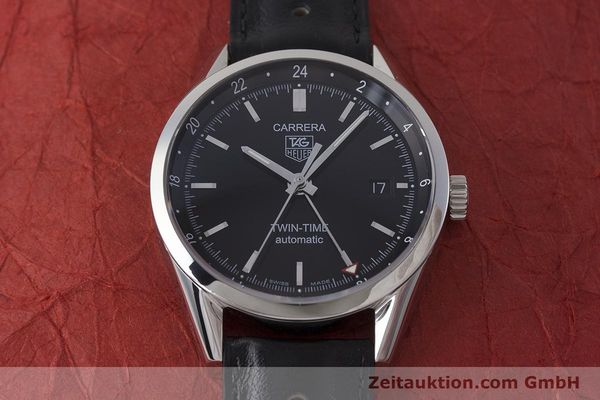 Used luxury watch Tag Heuer Carrera steel automatic Kal. 7 ETA 2893-2 Ref. WV2115  | 161951 15