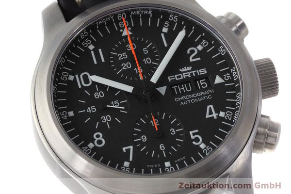 Used luxury watch Fortis B-42 chronograph steel automatic Kal. ETA 7750 Ref. 635.10.141.3  | 161952 02