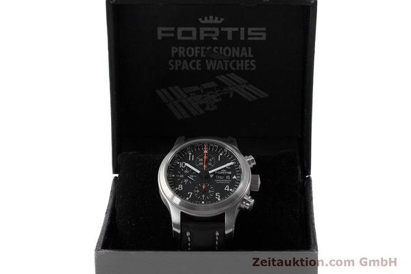 Used luxury watch Fortis B-42 chronograph steel automatic Kal. ETA 7750 Ref. 635.10.141.3  | 161952 07