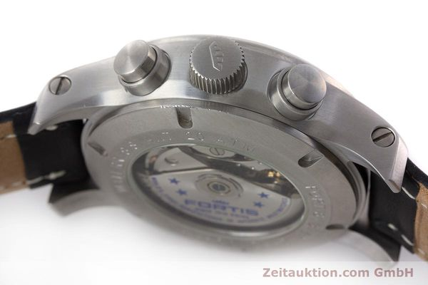 Used luxury watch Fortis B-42 chronograph steel automatic Kal. ETA 7750 Ref. 635.10.141.3  | 161952 11