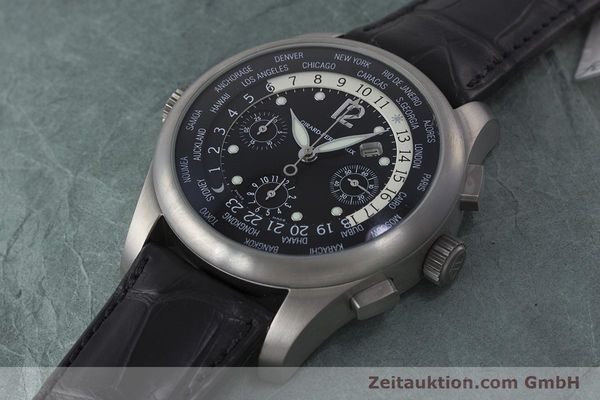 Used luxury watch Girard Perregaux * titanium automatic Kal. 3387 Ref. 4980  | 161953 01