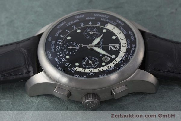 Used luxury watch Girard Perregaux * titanium automatic Kal. 3387 Ref. 4980  | 161953 05