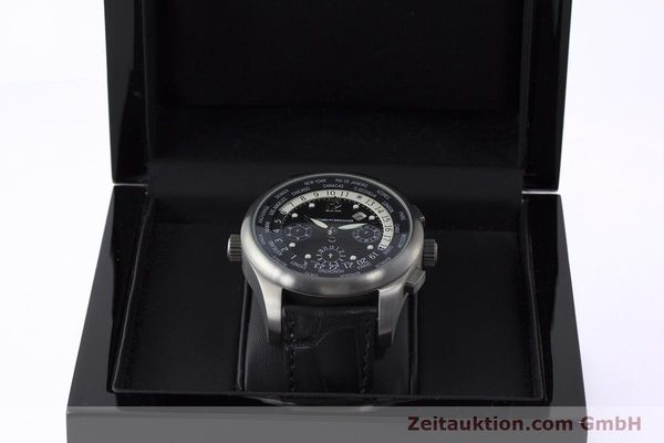 Used luxury watch Girard Perregaux * titanium automatic Kal. 3387 Ref. 4980  | 161953 07