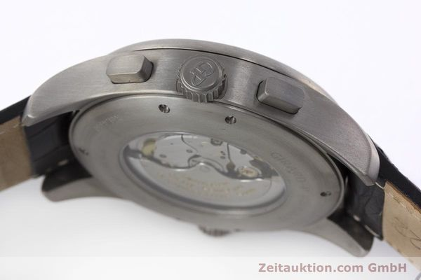 Used luxury watch Girard Perregaux * titanium automatic Kal. 3387 Ref. 4980  | 161953 08