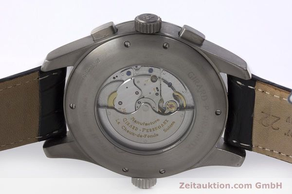 Used luxury watch Girard Perregaux * titanium automatic Kal. 3387 Ref. 4980  | 161953 09
