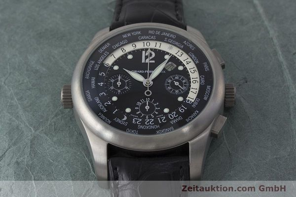Used luxury watch Girard Perregaux * titanium automatic Kal. 3387 Ref. 4980  | 161953 15