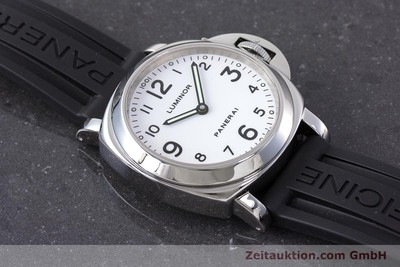 PANERAI LUMINOR STEEL MANUAL WINDING KAL. ETA 6497-2 LP: 5700EUR [161954]