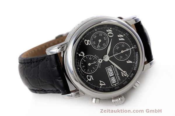 Used luxury watch Montblanc Meisterstück chronograph steel automatic Kal. 4810501 Ref. 7016  | 161959 03