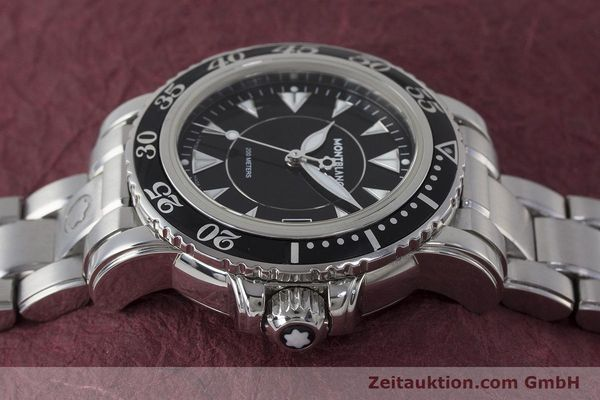 Used luxury watch Montblanc Meisterstück steel quartz Kal. ETA 955112 Ref. 7036  | 161960 05