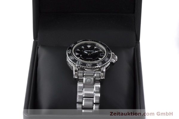 Used luxury watch Montblanc Meisterstück steel quartz Kal. ETA 955112 Ref. 7036  | 161960 07