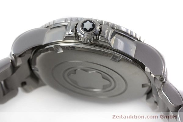 Used luxury watch Montblanc Meisterstück steel quartz Kal. ETA 955112 Ref. 7036  | 161960 08