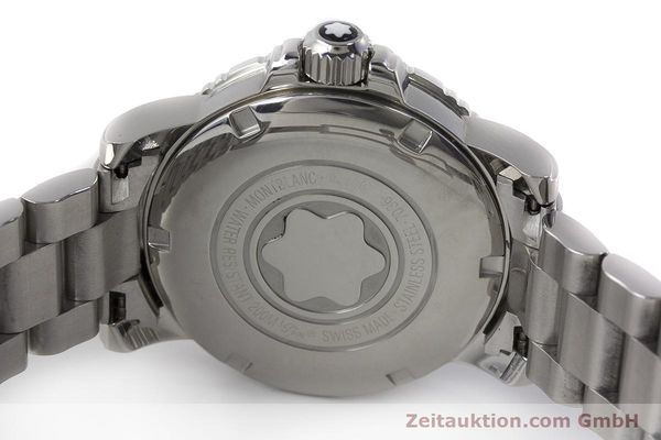 Used luxury watch Montblanc Meisterstück steel quartz Kal. ETA 955112 Ref. 7036  | 161960 09