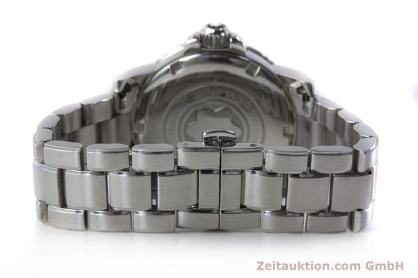 Used luxury watch Montblanc Meisterstück steel quartz Kal. ETA 955112 Ref. 7036  | 161960 10