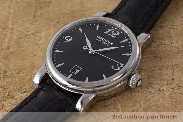 Used luxury watch Montblanc Star Date steel automatic Kal. 4810401 Eta 2892A2 Ref. 7190  | 161965 01