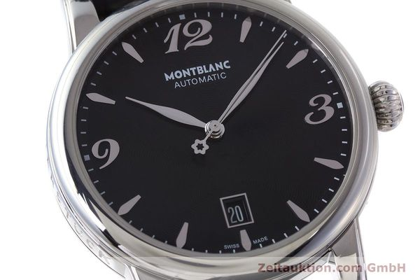Used luxury watch Montblanc Star Date steel automatic Kal. 4810401 Eta 2892A2 Ref. 7190  | 161965 02