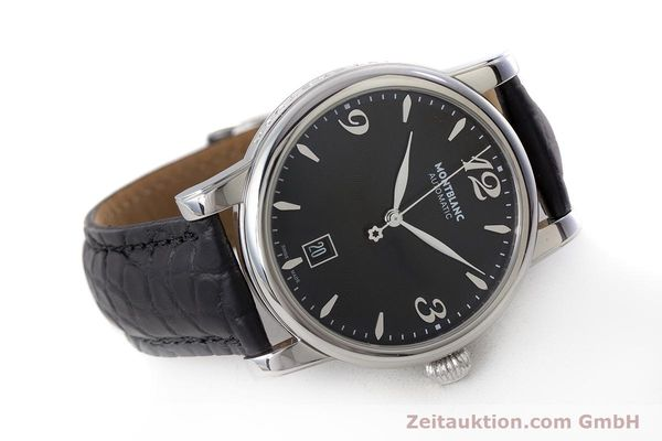 Used luxury watch Montblanc Star Date steel automatic Kal. 4810401 Eta 2892A2 Ref. 7190  | 161965 03