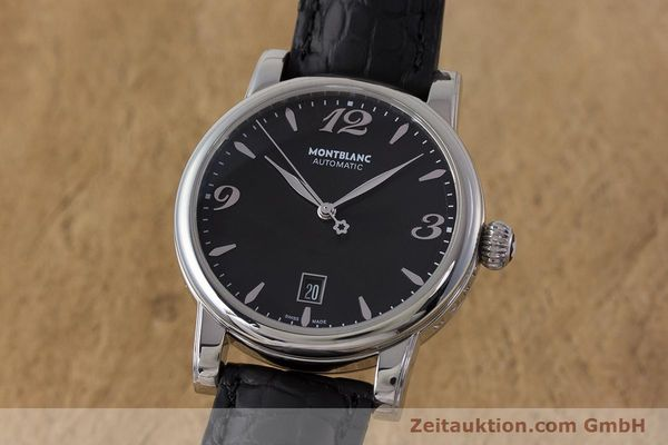 Used luxury watch Montblanc Star Date steel automatic Kal. 4810401 Eta 2892A2 Ref. 7190  | 161965 04