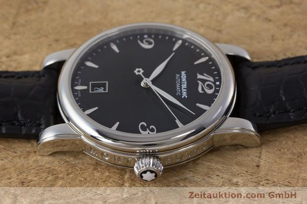 Used luxury watch Montblanc Star Date steel automatic Kal. 4810401 Eta 2892A2 Ref. 7190  | 161965 05